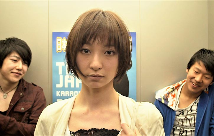 Mariko Shinoda plays assassin Newt