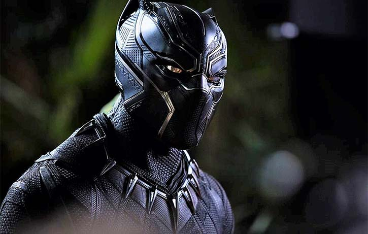 T'Challa is ready to defend his people as the Black Panther