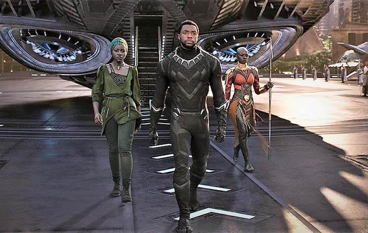 T'Challa returns to Wakanda from his latest mission