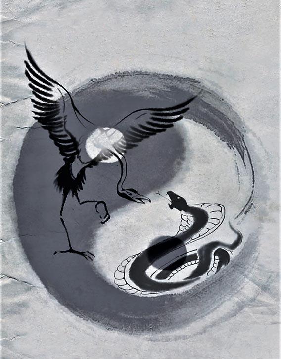 Crane vs Snake