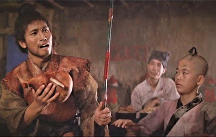 Yueh Hua plays Fan Da-pei