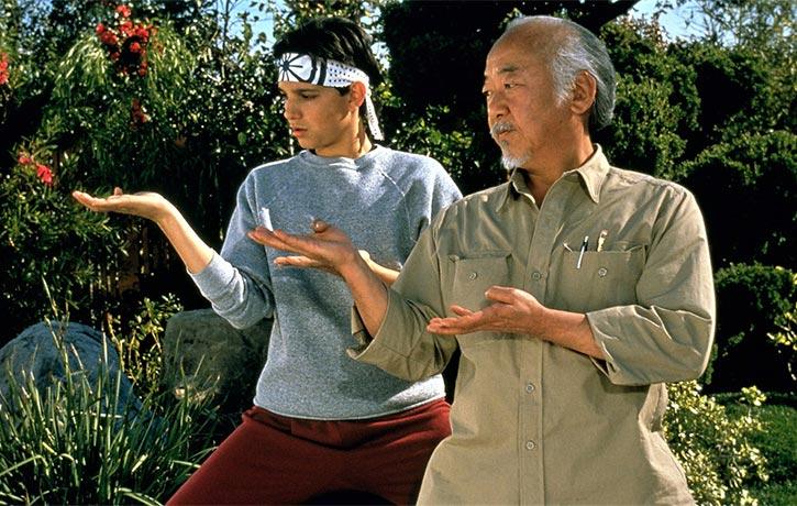 GAME OVER! Time to unleash the Miyagi kata!