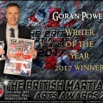 Goran Powell named Writer of the Year