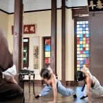 Huo Endi teaches his sons the family art, but not Huo Yuanjia