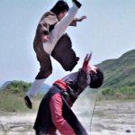 Kurata's jumping kicks are almost superhuman