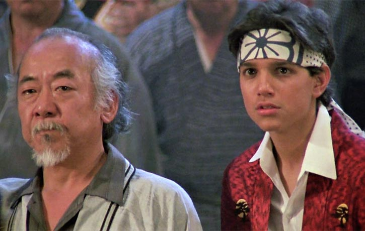Ralph Macchio and Pat Morita are back