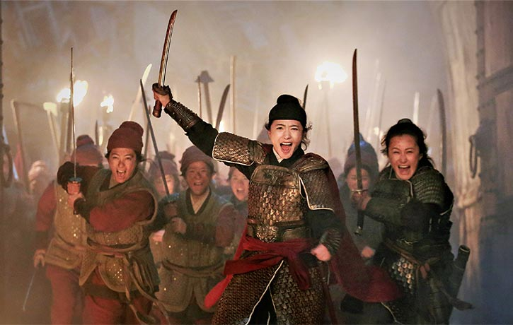 Regina Wan is tough and resourceful as Lady Qi