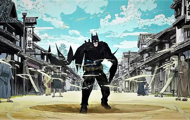 Batman Ninja does Japan!
