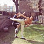 Dan Inosanto showing Dave some 'dirty Silat' moves