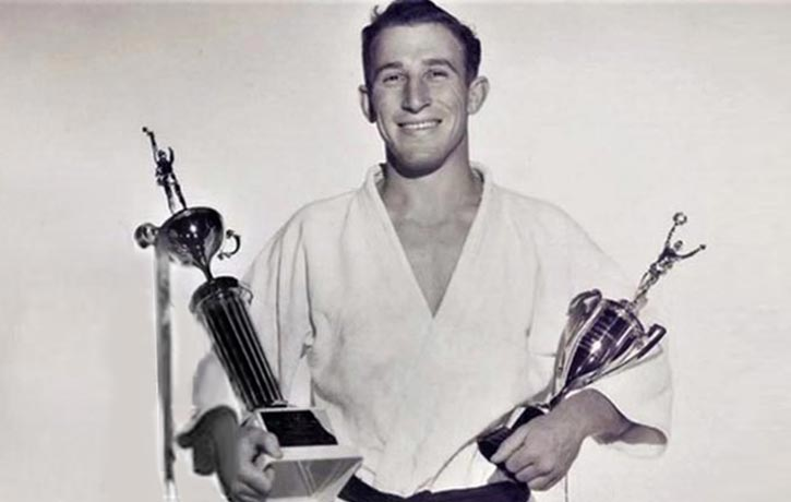 Gene has been a judo champ since the 1950's!