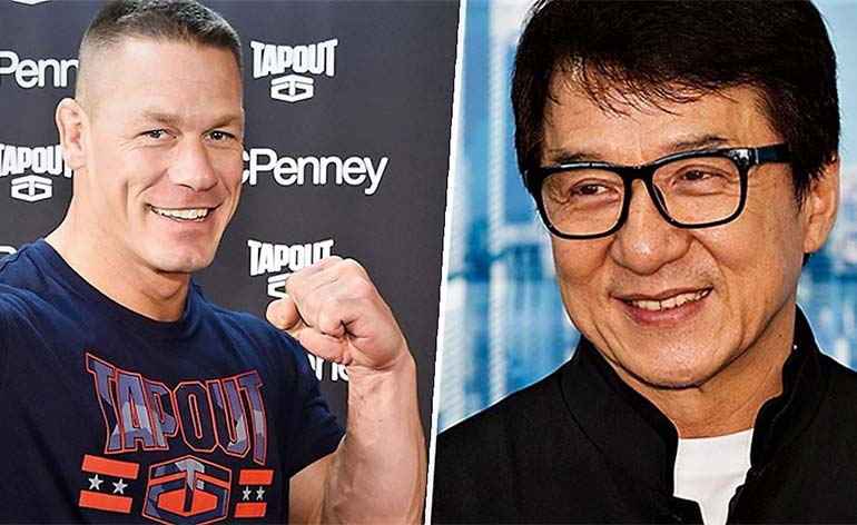"Jackie Chan and John Cena board ""Project X""!"