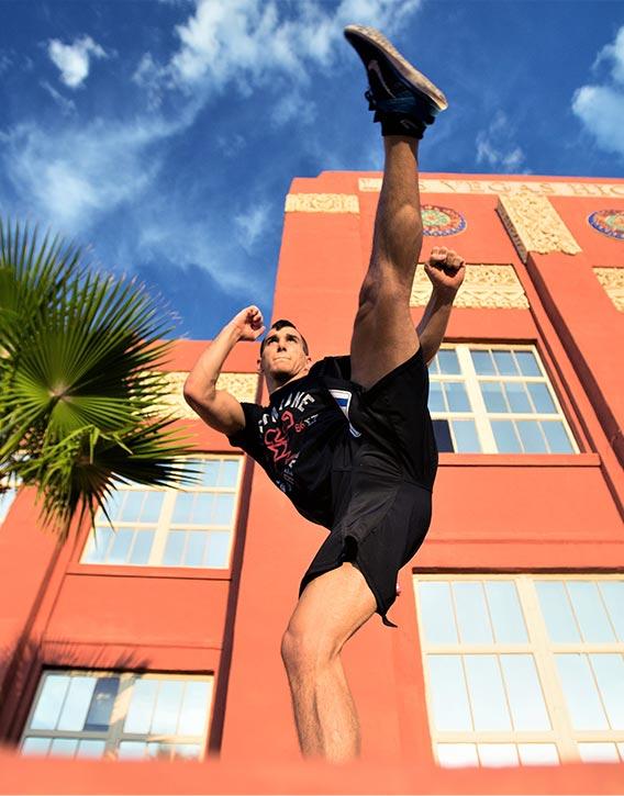 Natan's urban kick about!