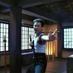 Sam Hui channels his inner Bruce Lee