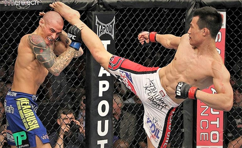 Top 5 MMA Finishes – Chan Sung Jung - Kung Fu Kingdom