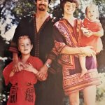 With Brandon, Linda and Shannon, circa 1970 - Copyright Hong Kong Heritage Museum