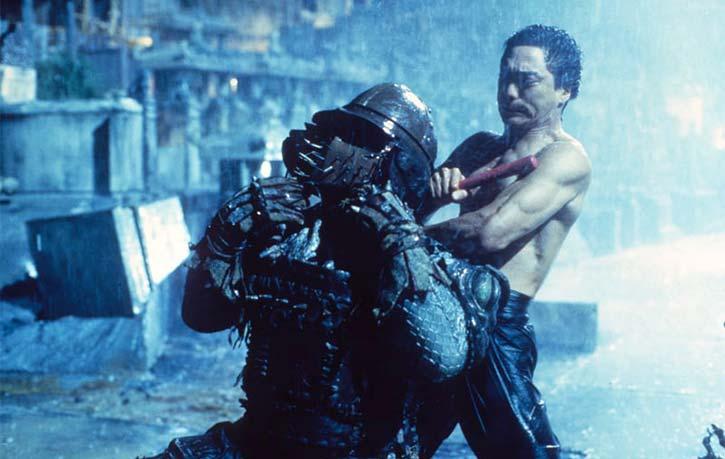 Bruce battles his demons