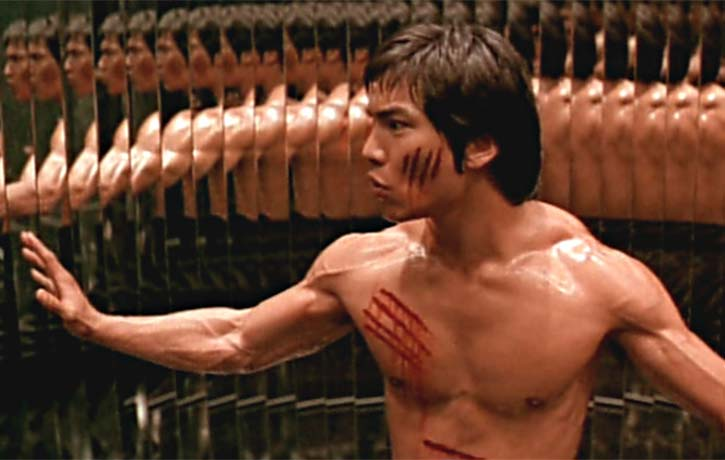 Bruce makes history on the set of Enter the Dragon