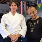 Josh Gold with the legendary Guro Dan Inosanto