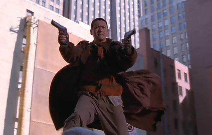 Monk-fu, gun-fu!