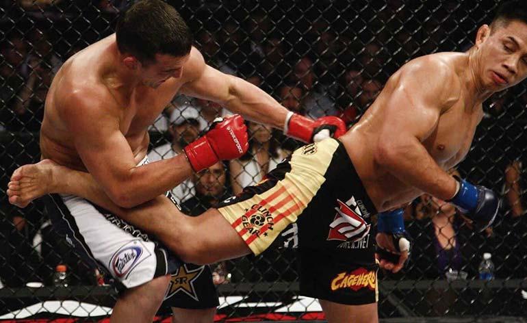 Top 5 Taekwondo Finishes in MMA