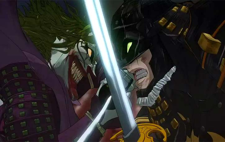 Batman and The Joker face off!