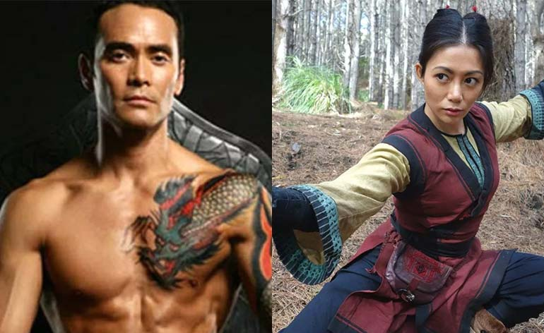"Mark Dacascos and JuJu Chan board ""Wu Assassins""!"