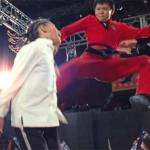 Cheng leaps in with a devastating kick