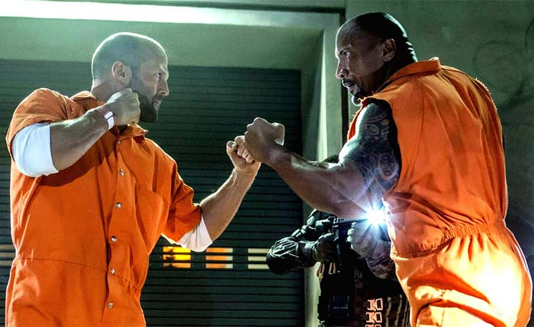 Top 10 Dwayne 'The Rock' Johnson Movie Fights!