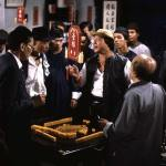The Mahjong scene was originally cut from the Western release