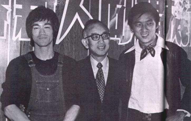 Chow attracted Hong Kong's biggest stars Bruce Lee and Jimmy Wang Yu to Golden Harvest
