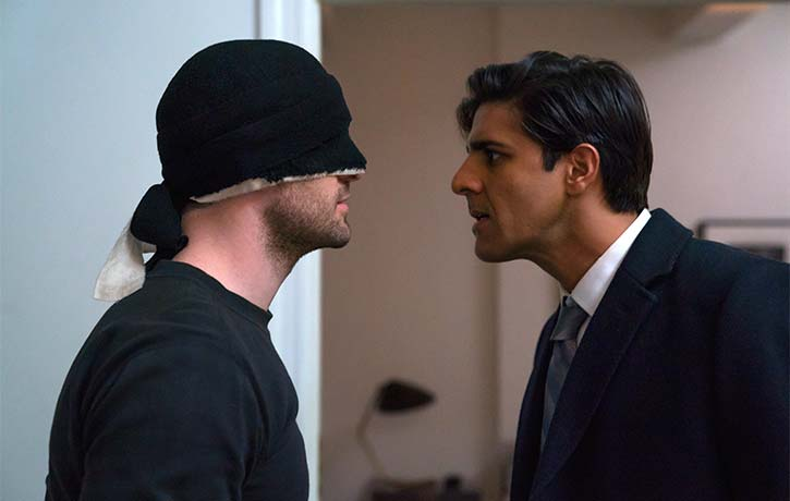 Daredevil forms an alliance with Agent Nadeem