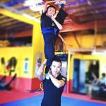 Evan Tsang's got balance and flexibility!