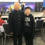 Evan meets Jet Li's wushu coach Wu Bin