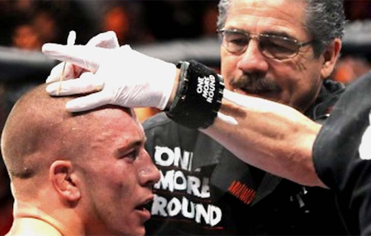 Stitch gives Georges St-Pierre a clean bill of health