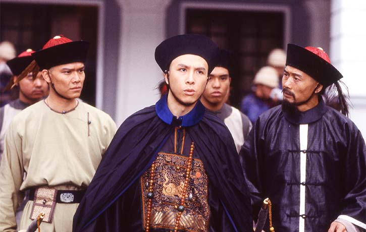 Donnie Yen as the deadly Commander Lan