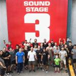 Jon Valera with the stunt team that made the incredible stunts & action of Aquaman possible!