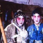 Kent Cheng and Yuen Biao have a night at the opera
