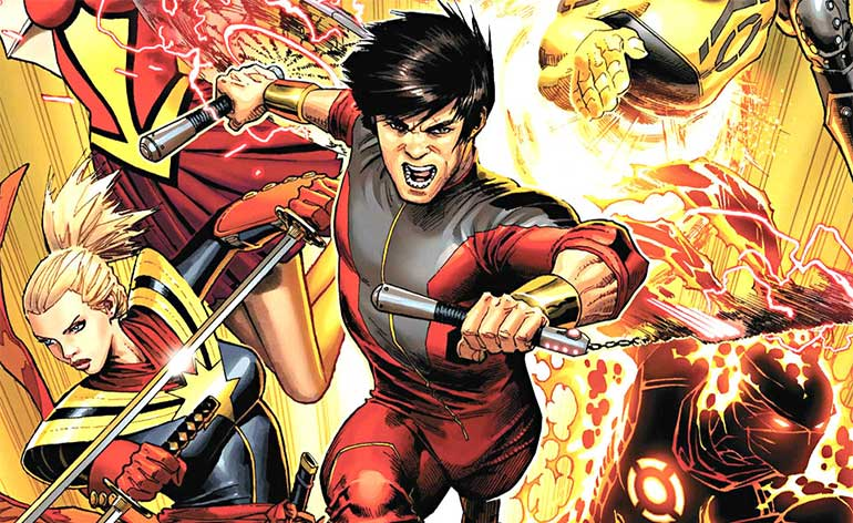 "Marvel Announces ""Shang-Chi"" Movie!"