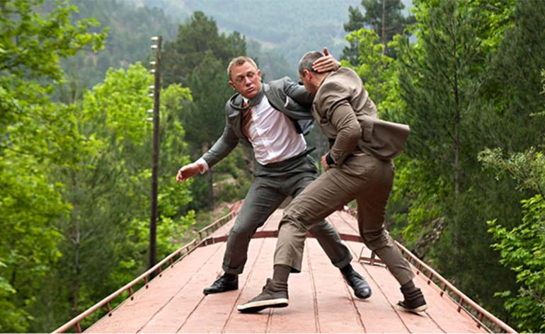 Top 10 James Bond Fight Scenes!