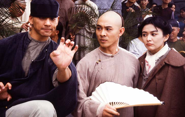 Wong and 13th Aunt are unimpressed with Leung's kung fu!