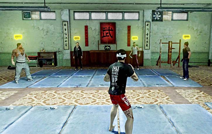 Wei's kung fu school is a training ground for melee combat