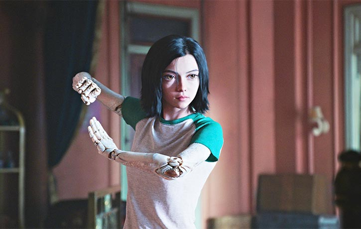 Alita is a master of the ancient martial art Panzer Kunst