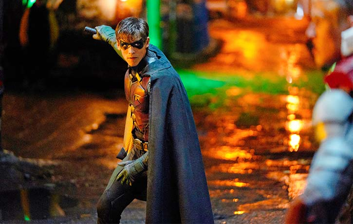 Dick Grayson can't seem to leave his life as Robin behind him