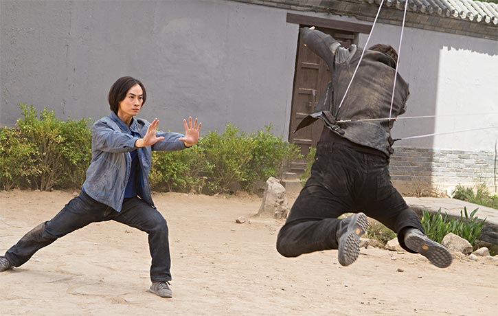 Behind the scenes on the final fight -Man of Tai Chi