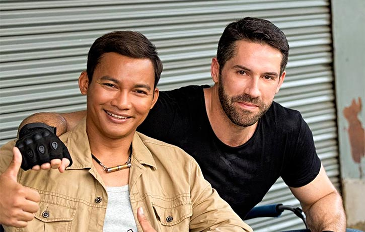 Tony and Scott Adkins combine to bring the trouble!