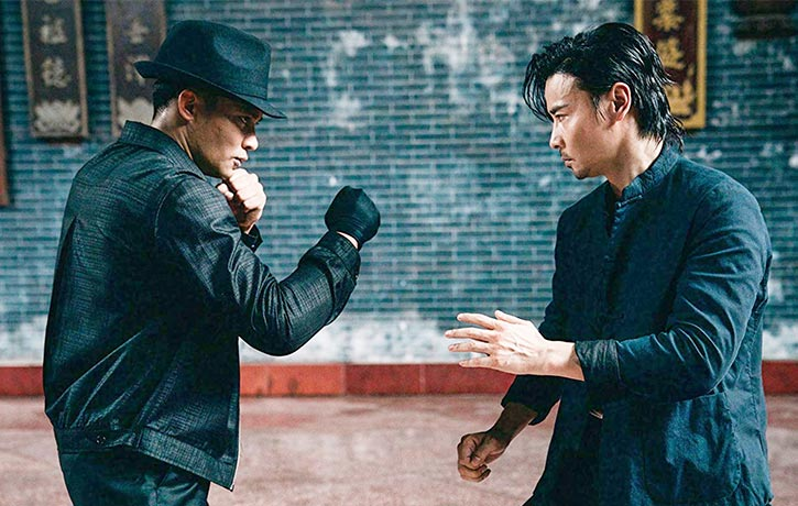 Cheung faces off with the mysterious Sadi!