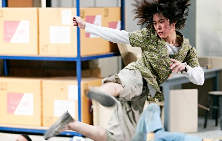Jeeja flies into the fight in Chocolate