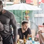 Michael Jai White and Iko Uwais' characters get up close and personal in Triple Threat