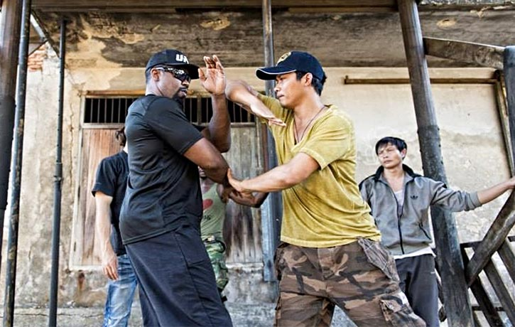 Mike previously faced off with Tony Jaa in 2015's Skin Trade