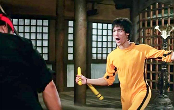 Bruce Lee takes it to Dan Inosanto